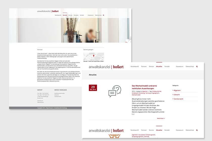 Projekt Webdesign